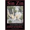 Alexander Valley Zinfandel Sin Zin United States California