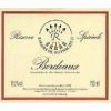 Barons Rothschild Reserve Special Bordeaux Blanc
