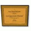 Veuve Cliquot La Grand Dame France Champagne French 96 	 	 	 	ws 95