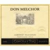 Don Melchor Cabernet Sauvignon Bottled by Concha Y Toro - Chile
