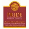 Pride Mountain Vineyards Cabernet Sauvignon Reserve