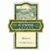 Kunde Estate Winery Merlot Sonoma Valley